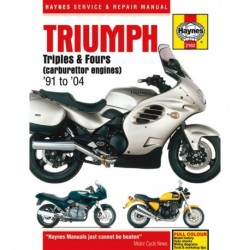 Triumph Triples and Fours (carburettor engines) 1991 - 2004