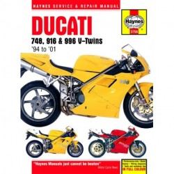 Ducati 748 916 and 996 4-valve V-Twins 1994 - 2001